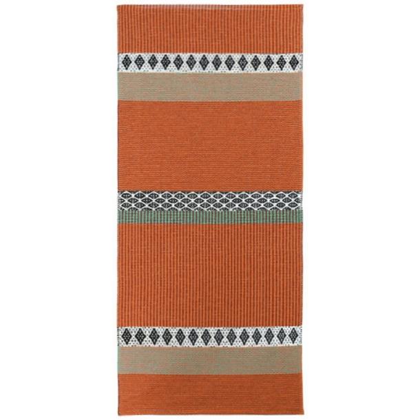Tæppe fra Horredsmattan - Savanne - Orange