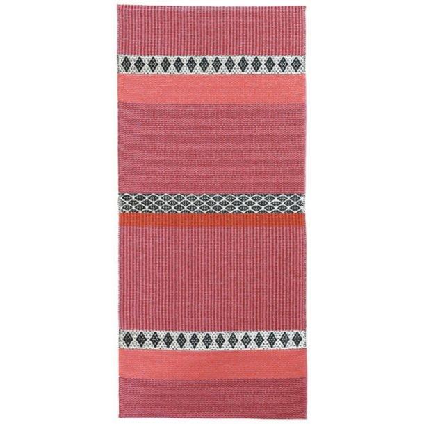 Tæppe fra Horredsmattan - Savanne - Pink