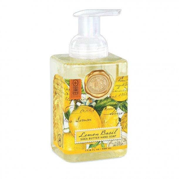 Skumhåndsæbe med aloe - Engelsk luksus - Lemon Basil