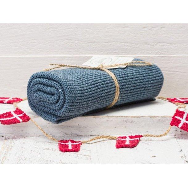 Solwang håndklæde - Almue blå