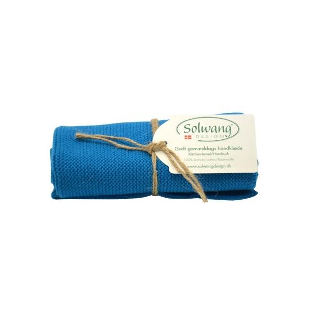 Solwang håndklæde - lys støvet blå
