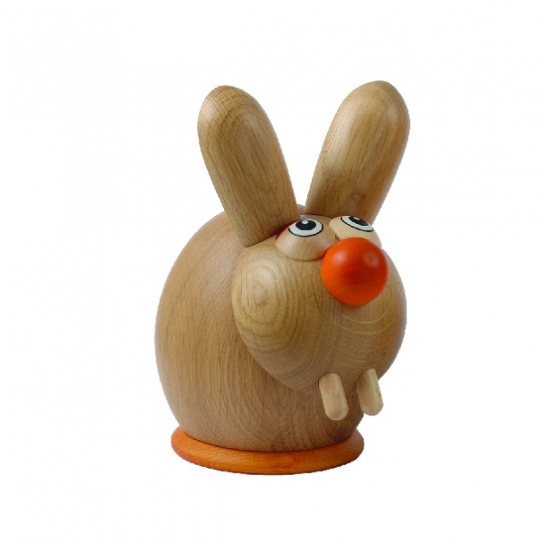 Sparebøsse - Hare i egetræ