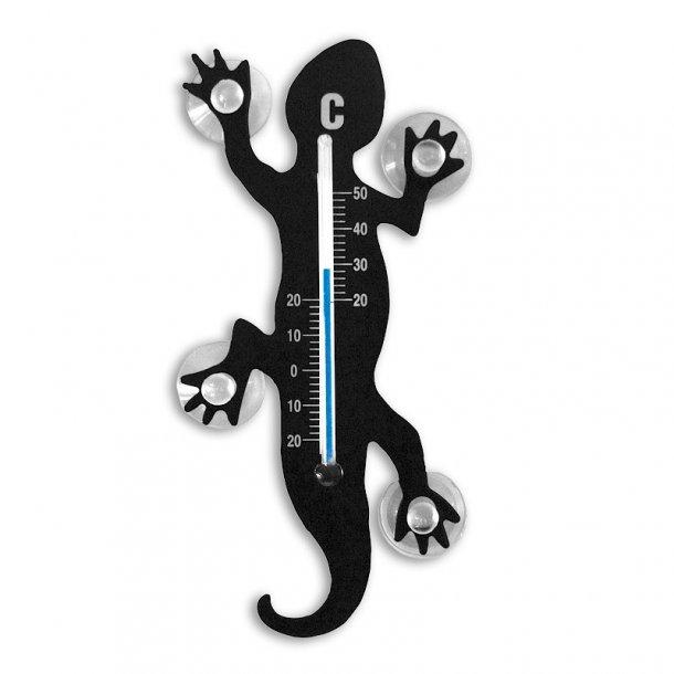 Termometer - Gecko med sugekopper