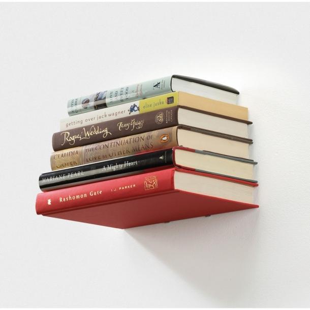 Usynlig boghylde - lille