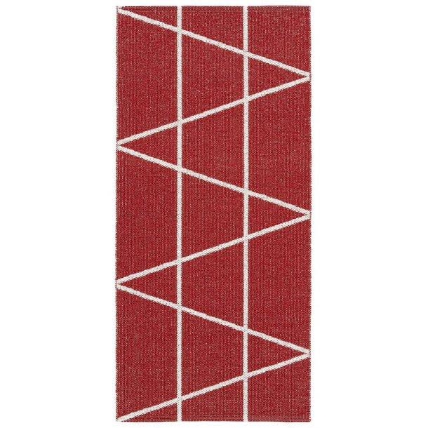 Tæppe fra Horredsmattan - Viggen - Rød